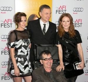 Kristen Stewart, Wash Westmoreland, Richard Glatzer und Julianne Moore am AFI Fest (American Film Institute Film Festival), November 2014